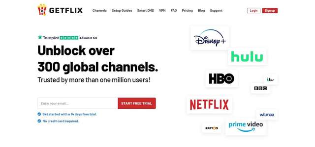 Why Getflix is the Best Smart DNS Service?